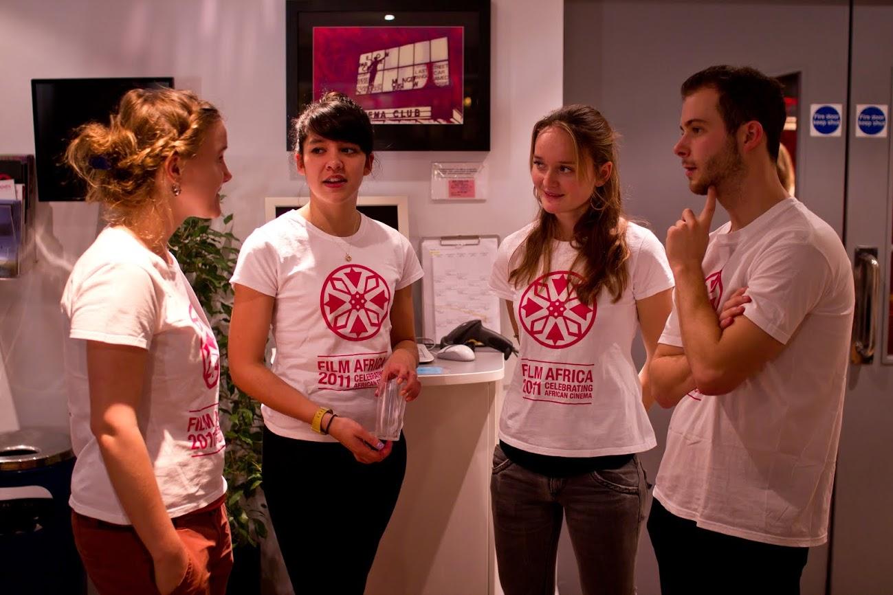 Film Africa 2011: Volunteers